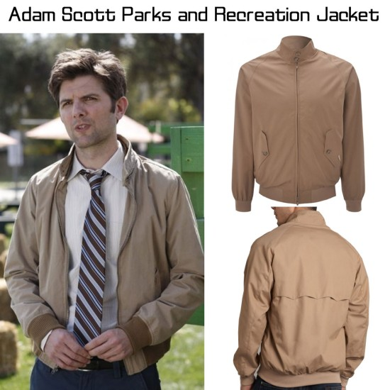 Ben Wyatt Parks and Rec Jacket