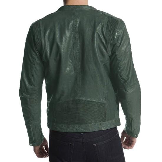 Adrien Brody American Heist Frankie Leather Jacket