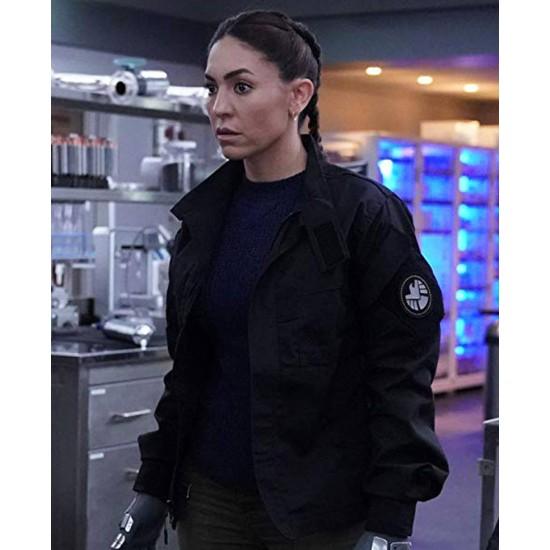 Agents of  S.H.I.E.L.D. Yo Yo Rodriguez Black Jacket