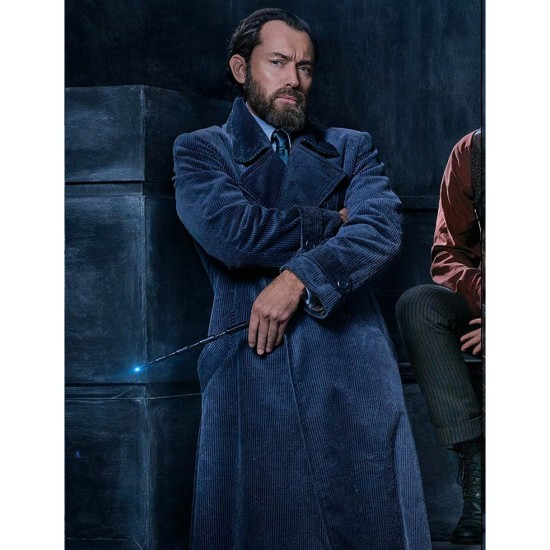 Fantastic Beasts The Crimes of Grindelwald Jude Law Coat