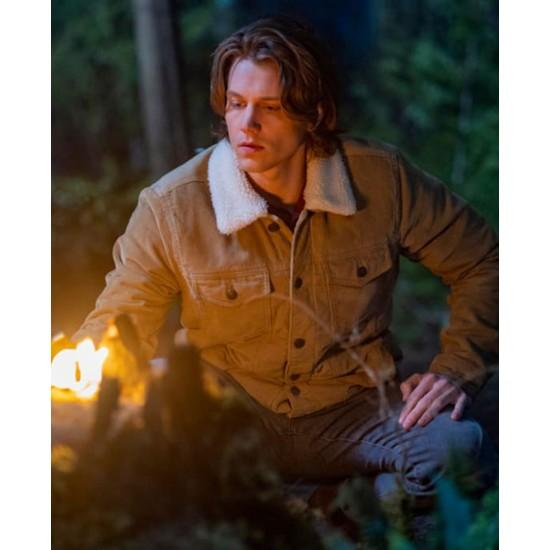 Nancy Drew Alex Saxon Jacket with Fur Collar