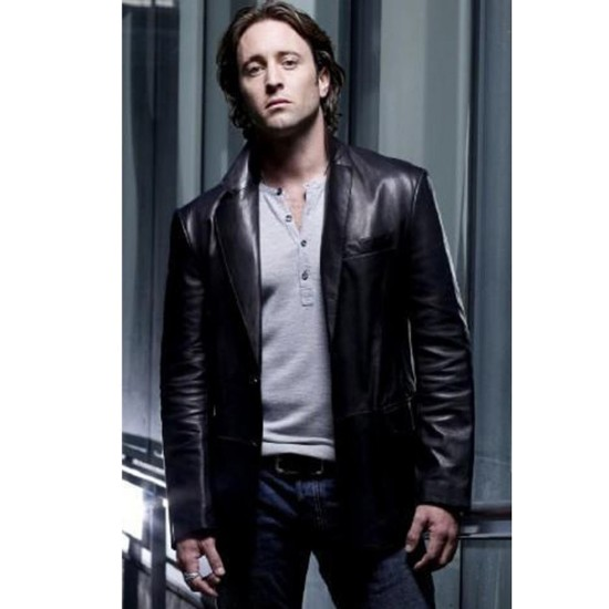 Mick St. John Moonlight Alex O'loughlin Leather Jacket