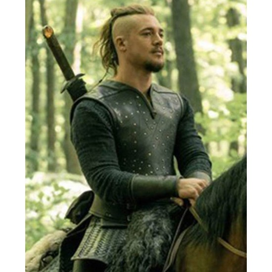 Alexander Dreymon The Last Kingdom Black Vest