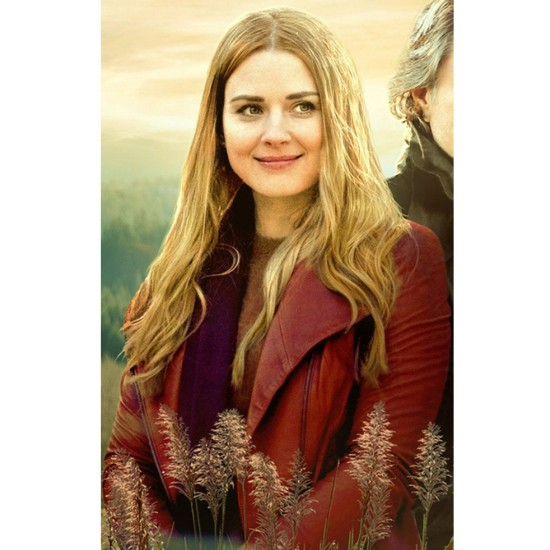 Alexandra Breckenridge Virgin River Red Jacket
