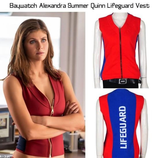 Baywatch Alexandra Daddario Vest