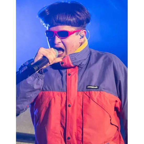 Alien Boy Let Me Down Pink and Purple Jacket