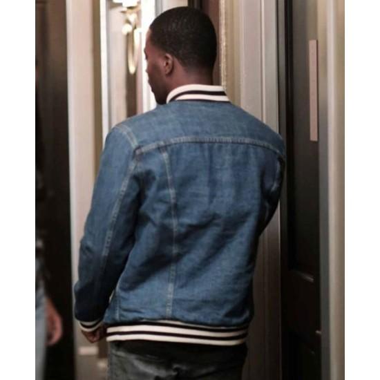 Daniel Ezra All American Denim Blue Jacket