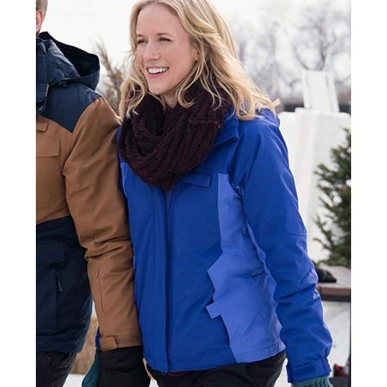 Amazing Winter Romance Jessy Schram Jacket