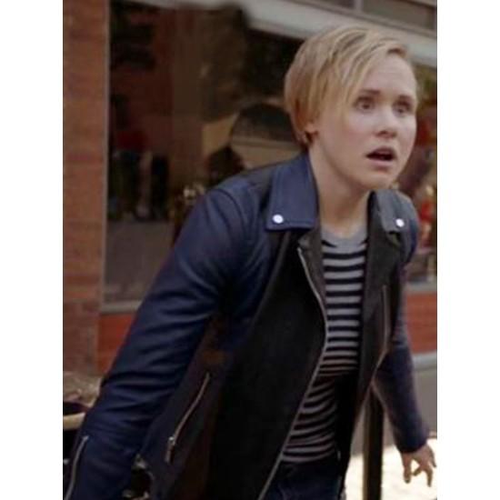 Alison Pill American Horror Story Biker Leather Jacket