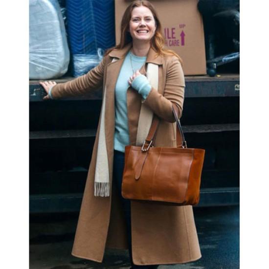 Amy Adams The Woman In The Window Brown Coat
