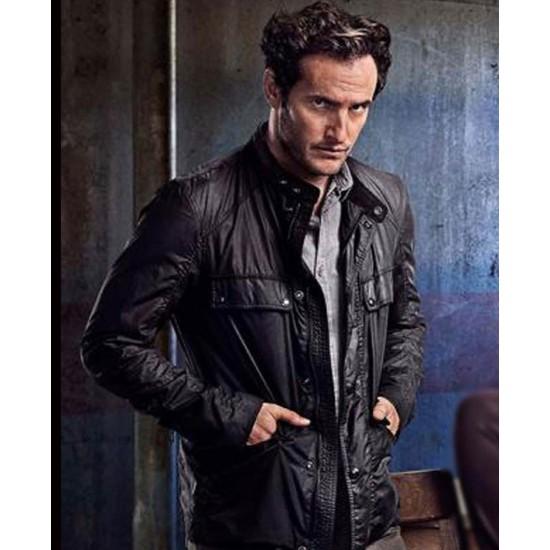 Angel Bonanni Condor Season 02 Black Leather Jacket