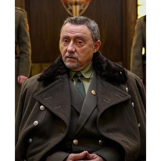 Anna Eric Godon Black Coat