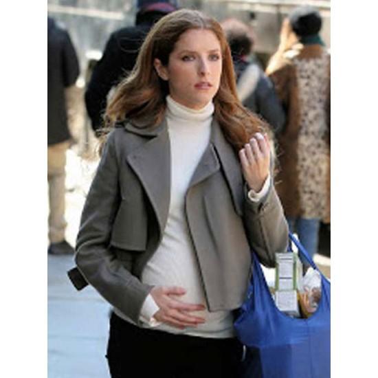 Anna Kendrick Love Life Wool Jacket