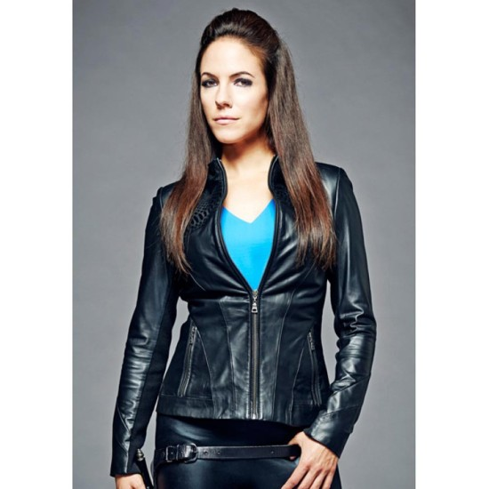 Bo Dennis Lost Girl Anna Silk Leather Jacket
