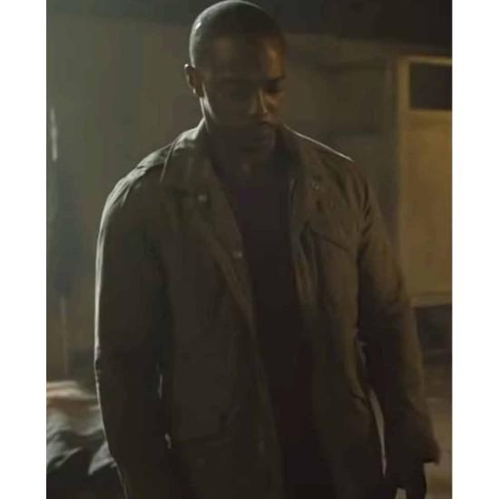 Anthony Mackie Point Blank Cotton Jacket