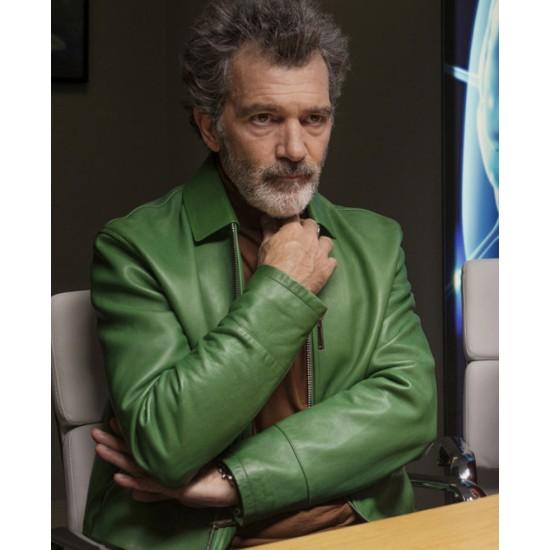 Antonio Banderas Pain & Glory Green Jacket
