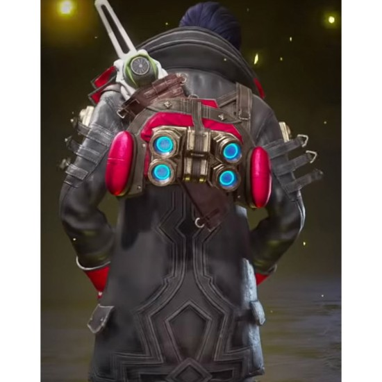 Apex Legends Crypto Deadly Byte Long Jacket