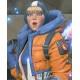 Apex Legends S02 Wattson Orange and Blue Hoodie