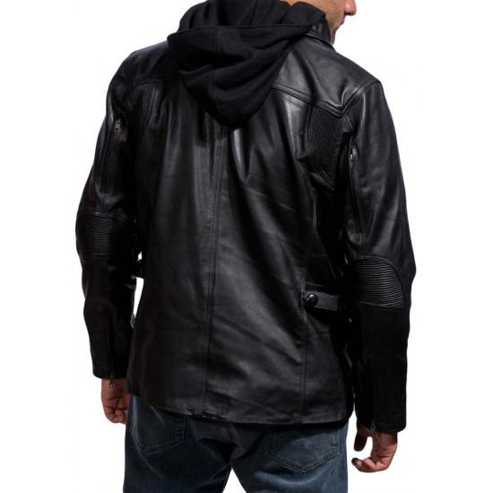 Arnold Schwarzenegger Terminator Genisys Jacket with Hoodie