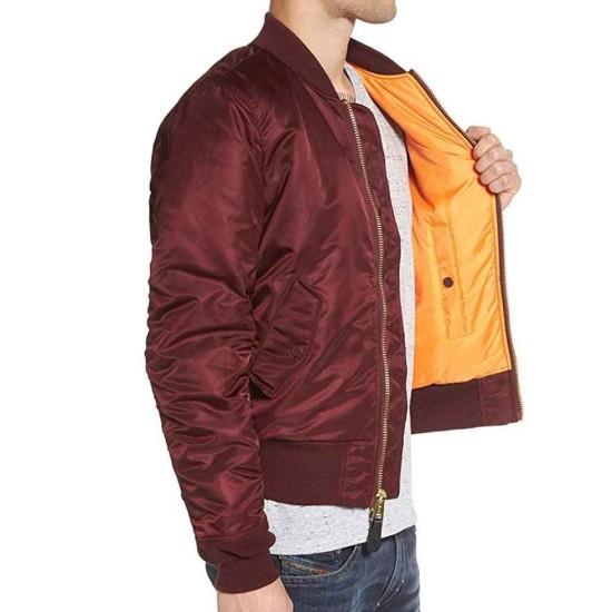Arrow Echo Kellum Bomber Red Jacket