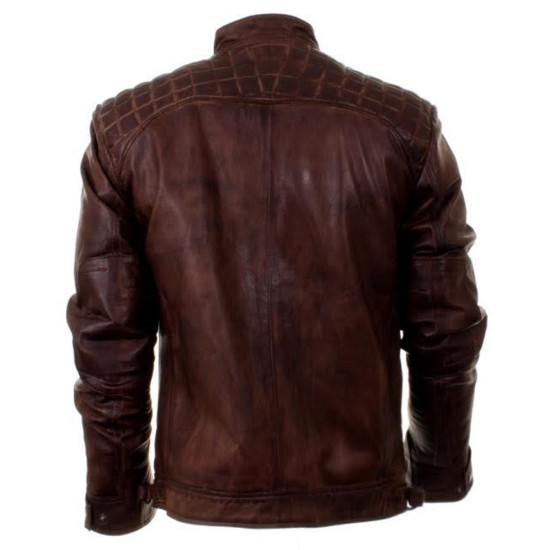 Arrow TV Series Oliver Queen Brown Leather Jacket