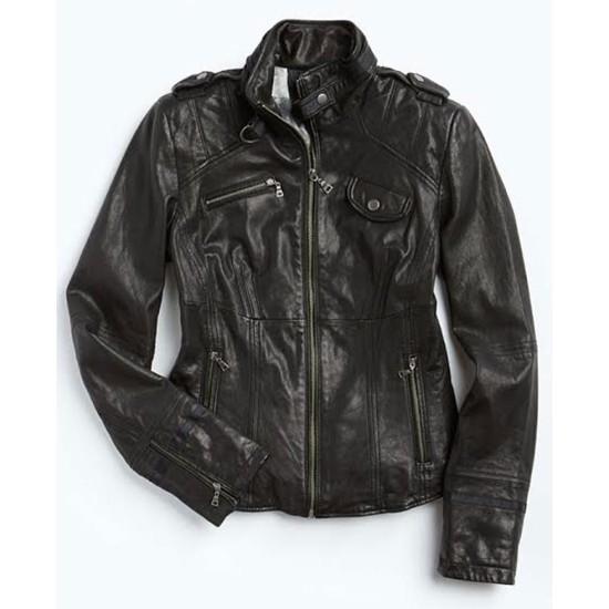 Arrow Season 2 Sara Lance Leather Jacket
