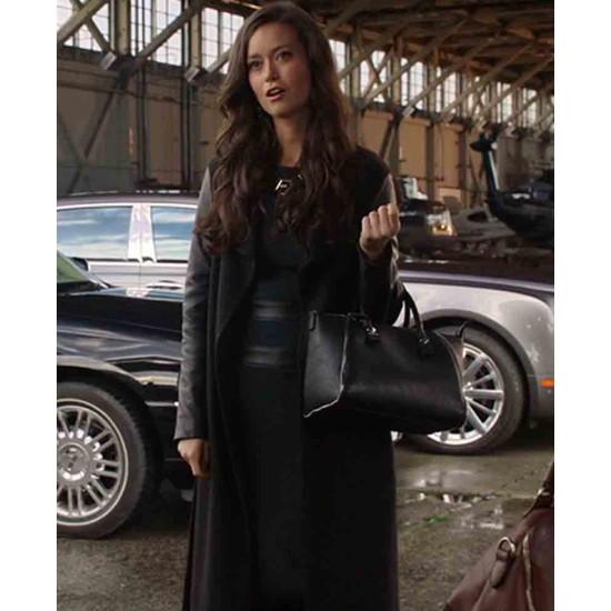 Arrow Season 2 Summer Glau Trench Coat