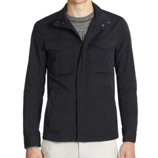 Arrow Stephen Amell Field Black Jacket