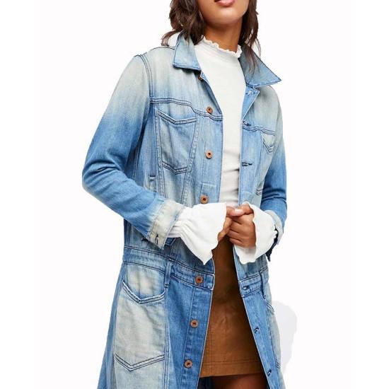 Arrow Zoe Ramirez Blue Coat