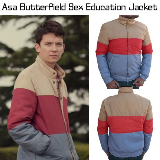 Asa Butterfield Sex Education Jacket
