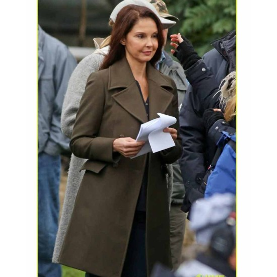 Ashley Judd A Dog's Way Home Trench Coat