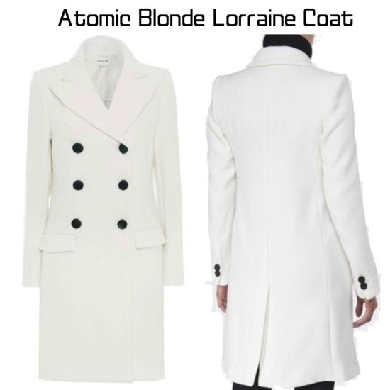 Atomic Blonde Lorraine Broughton White Coat