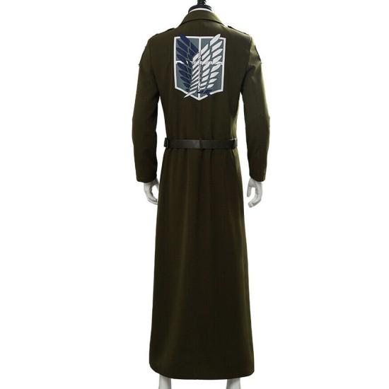 Attack On Titan S03 Eren Jaeger Wool Coat