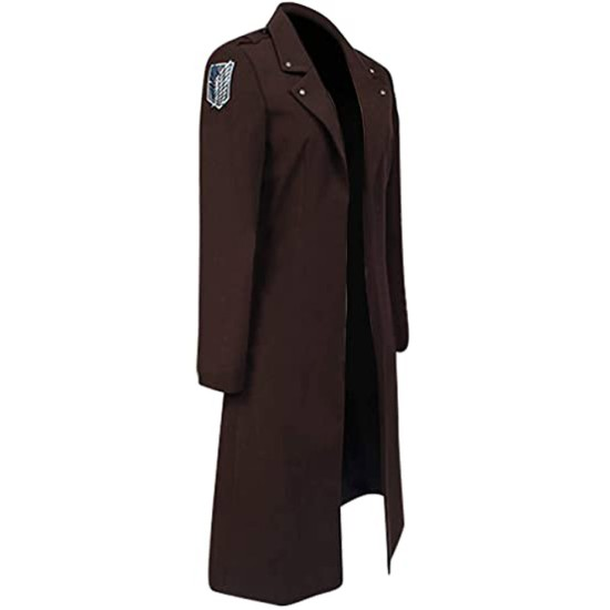 Attack on Titan Eren Yeager Wool Coat