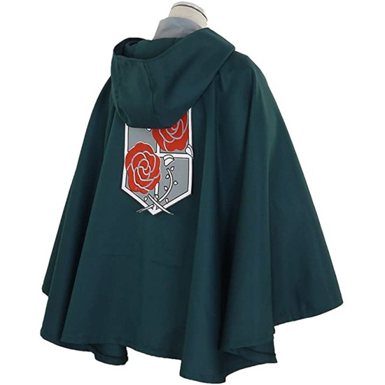 Garrison Regiment Attack on Titan Hooded Cloak
