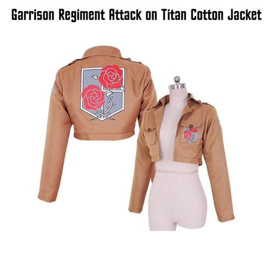Garrison Regiment Attack on Titan Cotton Jacket