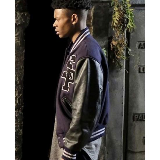 Aubrey Joseph Cloak Letterman Jacket