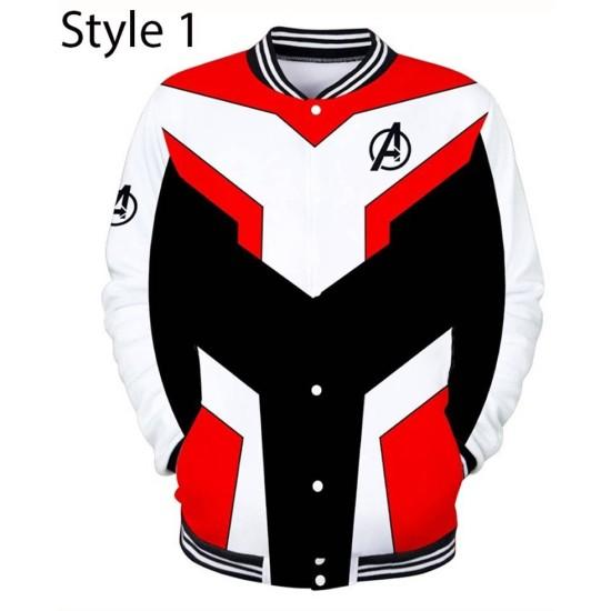 Avengers Endgame Quantum Realm Letterman Jacket