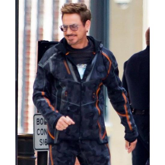 Avengers Infinity War Robert Downey Jr. Jacket
