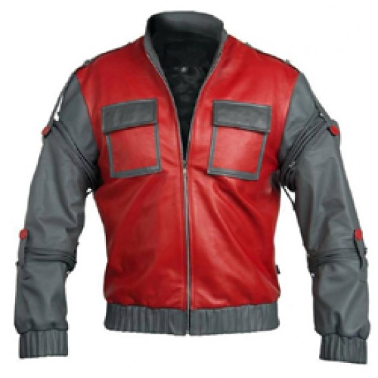Back To The Future 2 Movie Marty Mcfly Jacket