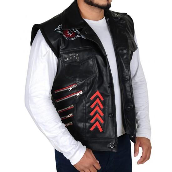 Baron Corbin WWE Leather Vest