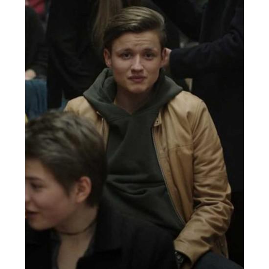 Bartosz Tiedemann Dark Leather Jacket