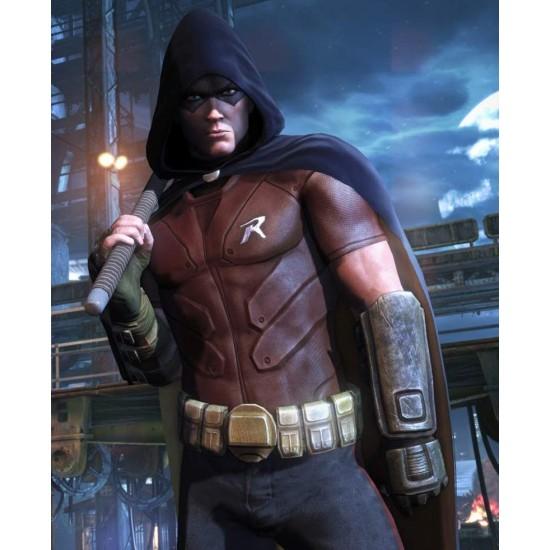 Batman Arkham City Robin Leather Vest