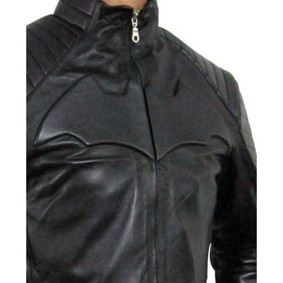 Batman Begins Film Batman Leather Jacket