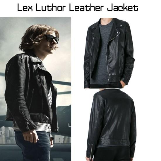 Batman V Superman Lex Luthor Leather Jacket