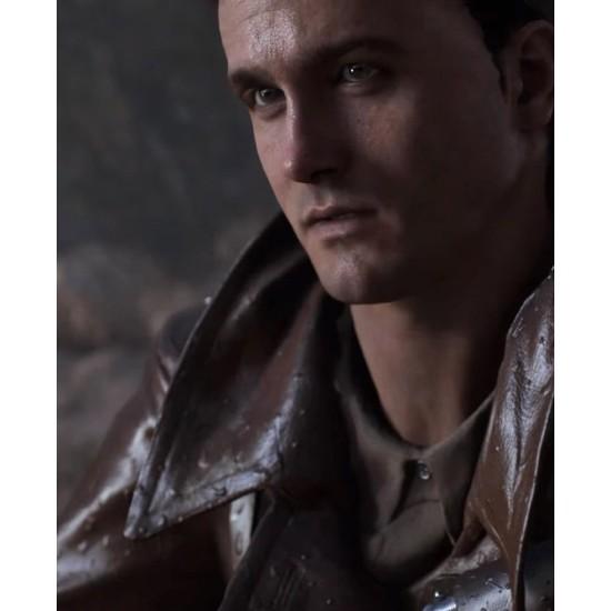 Battlefield 5 Billy Bridger Brown Leather Jacket