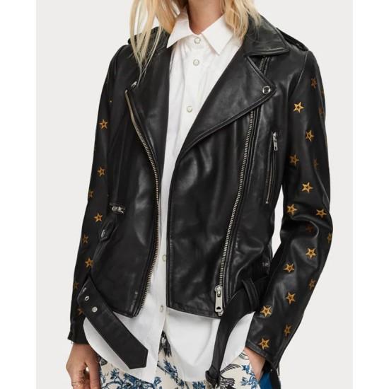 Batwoman Nicole Kang Black Leather Jacket