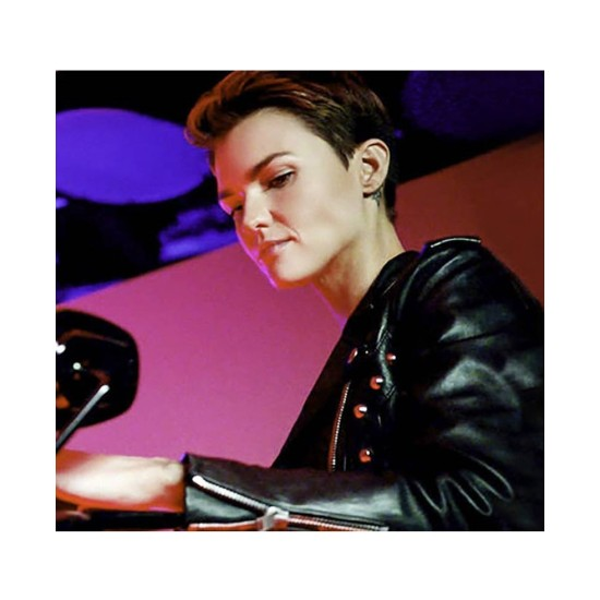 Batwoman Season 1 Katherine Kane Motorcycle Leather Jacket