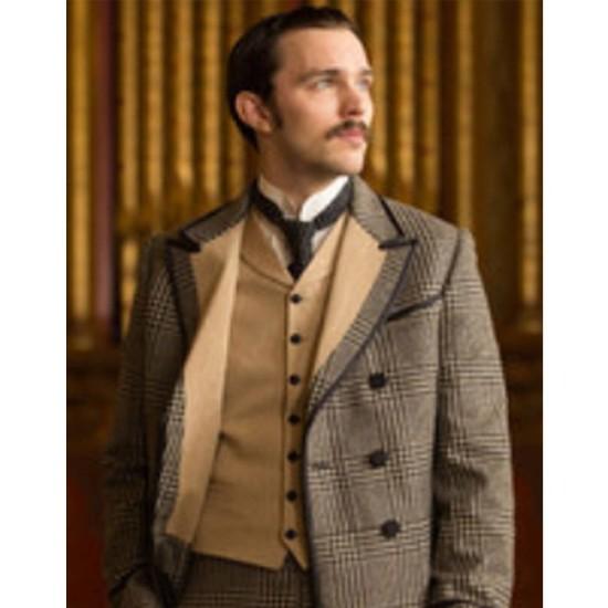 Benedict Cumberbatch The Current War Checkered Coat