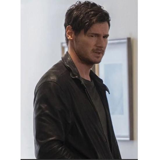 Benjamin Walker Jessica Jones Black Leather Jacket